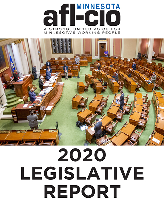 Image of 2020 Legislative Report Cover