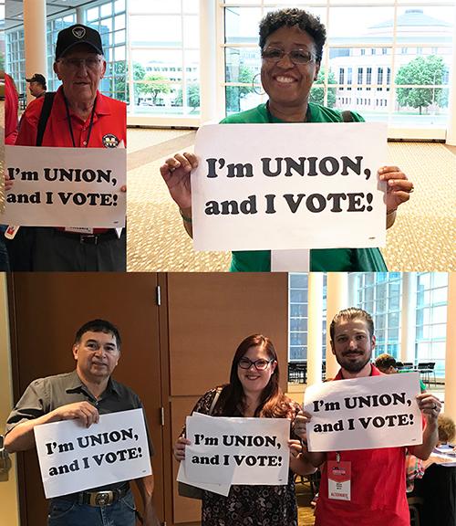 Pledge to vote for Labor-endorsed candidates